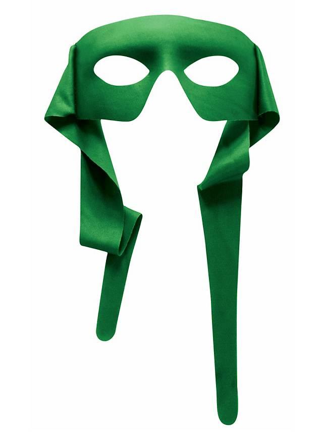 Superhelden-Maske grün