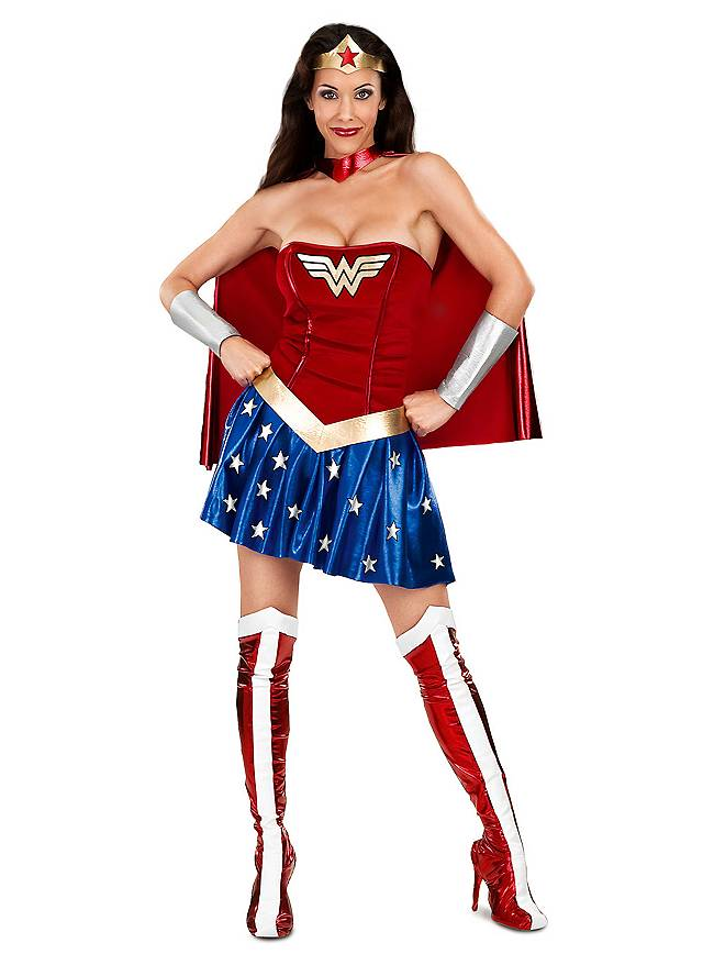 Superhéro Wonderwoman sexy Déguisement
