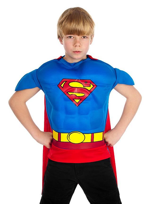 Superman Muscle Shirt Kids Costume