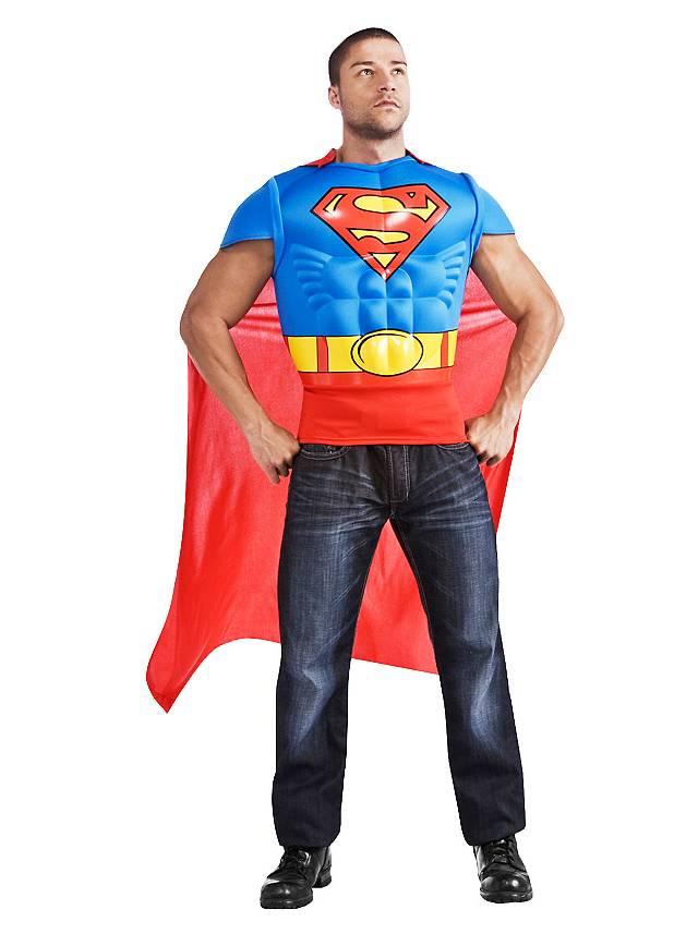 Superman Muskelshirt Kostüm