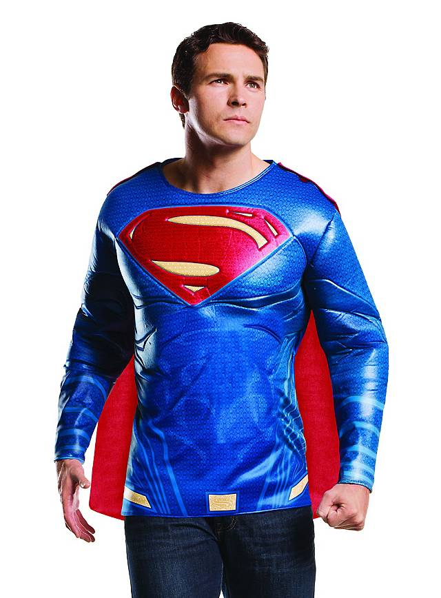 Superman Muskelshirt mit Umhang