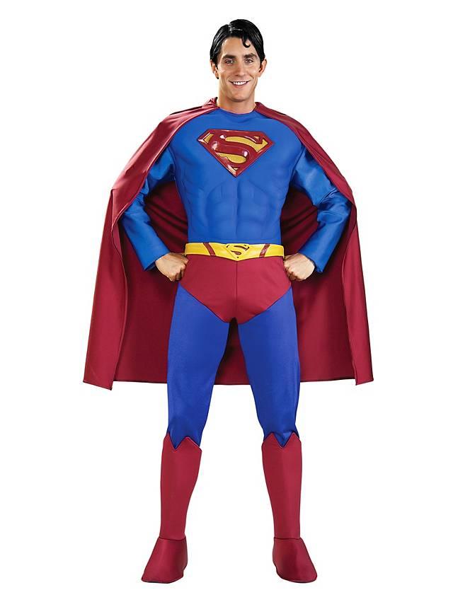 superman returns deluxe kost m. Black Bedroom Furniture Sets. Home Design Ideas