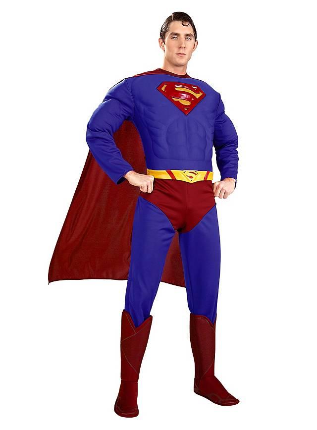 superman returns kost m superhelden outfit. Black Bedroom Furniture Sets. Home Design Ideas