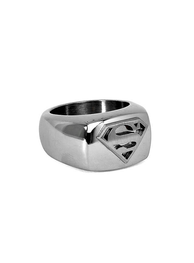 Superman Signet Ring steel