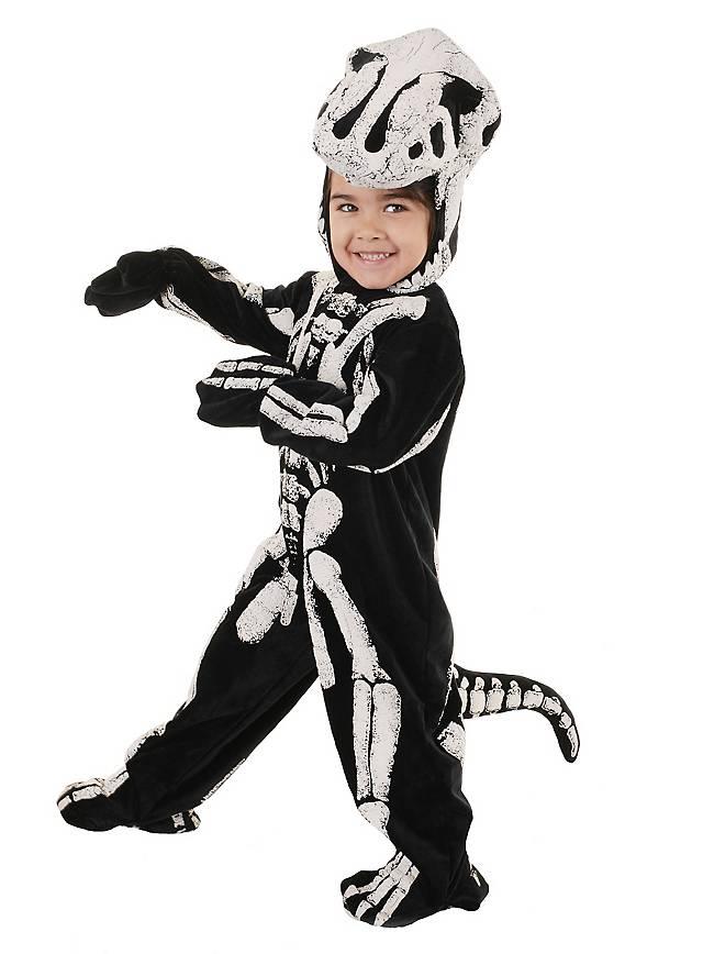T-Rex Dinosaurier Skelett Kinderkostüm