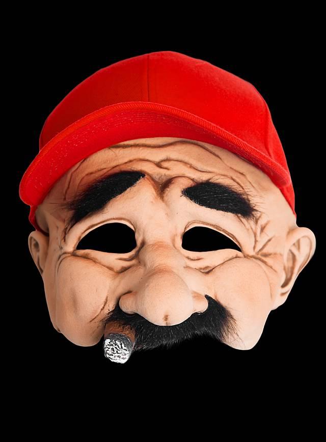 Tabakpflanzer Maske aus Latex