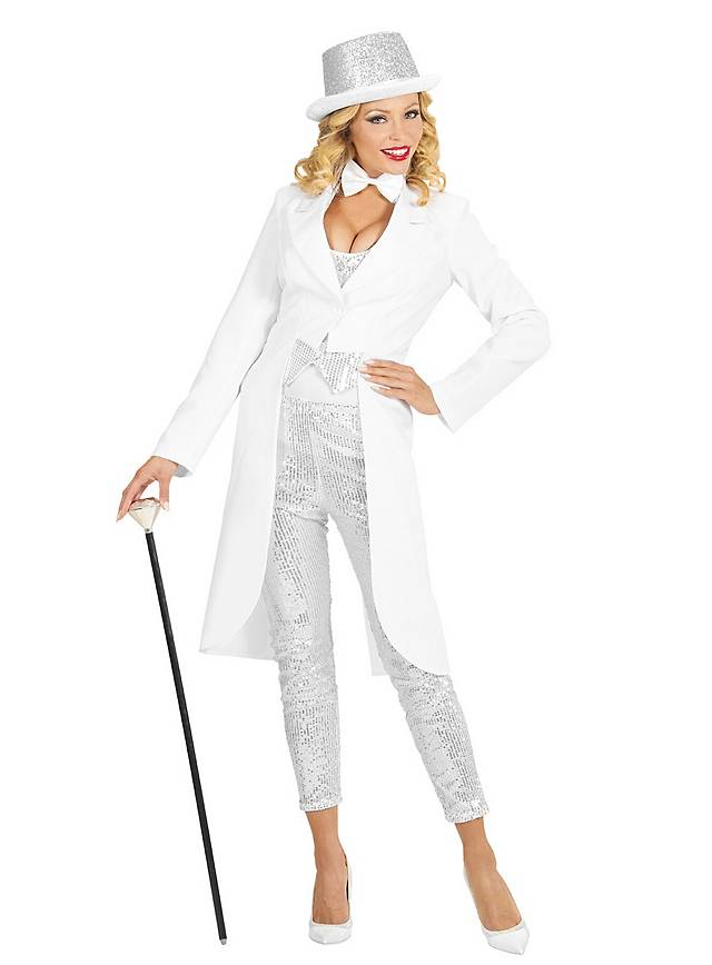 Tailcoat for ladies white
