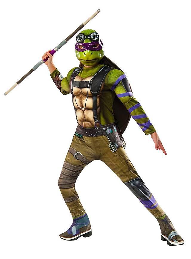 Teenage Mutant Ninja Turtles 2 Donatello Deluxe Kostüm für Kinder