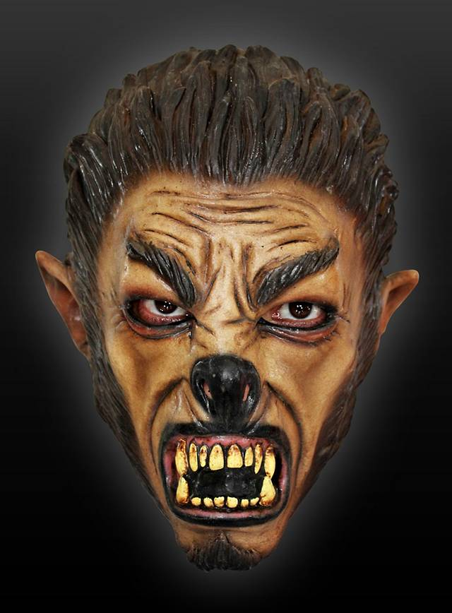 Teenage Werwolf Kindermaske aus Latex