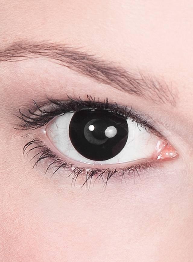 Schwarze Kontaktlinsen Telepath