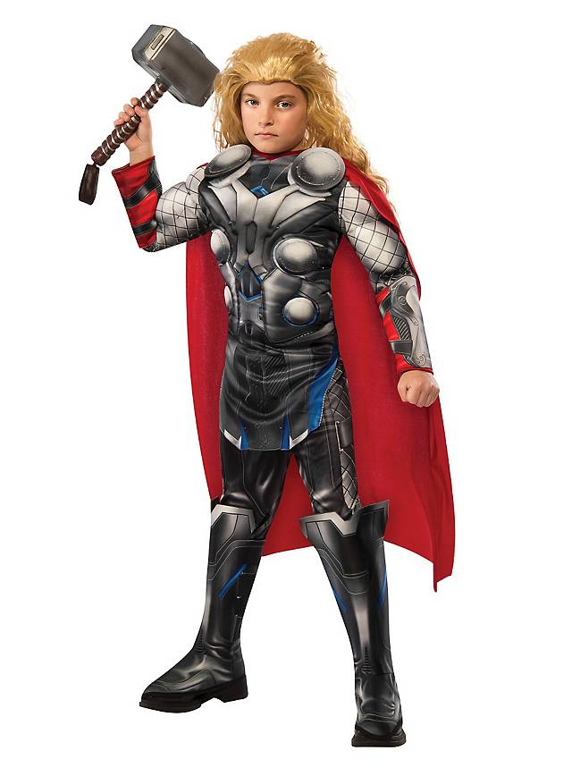 The Avengers Thor mit Muskeln Kinderkostüm