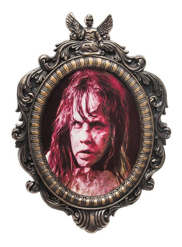The Exorcist Regan Horror Portrait