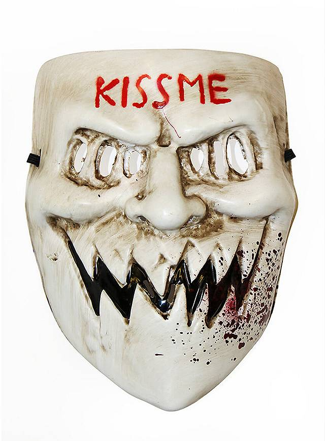 The Purge Kiss Me Maske