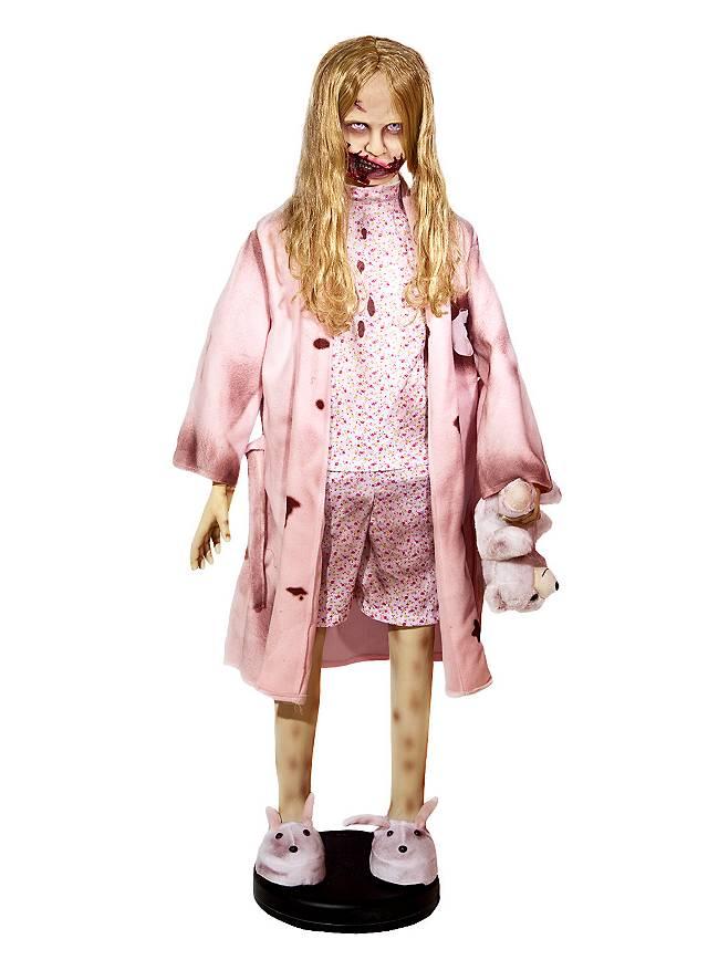 The Walking Dead Little Zombie Girl Animated Halloween ...