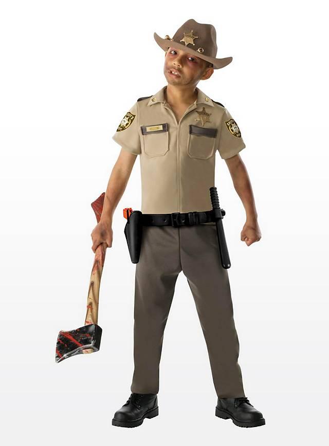 6fe00e8a048 The Walking Dead Rick Grimes Kids Costume - maskworld.com