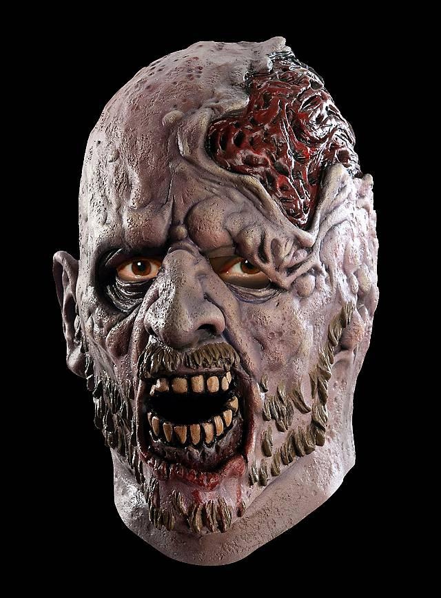 The Walking Dead Verfaulter Zombie Maske aus Latex