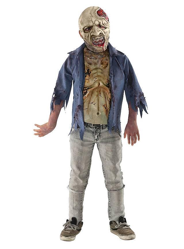 The Walking Dead zombie en putréfaction Déguisement Enfant