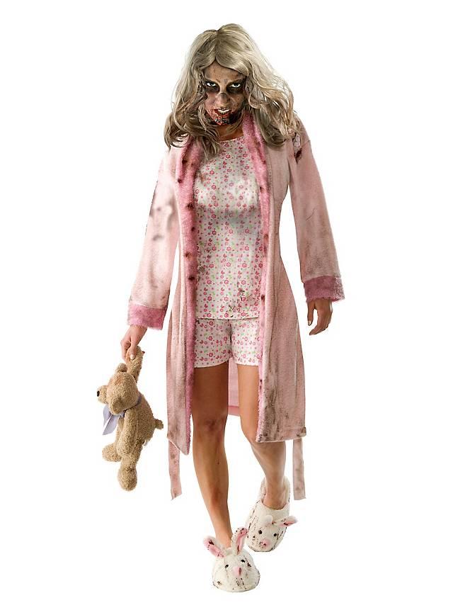 The Walking Dead Zombie Mädchen Kostüm Maskworldcom