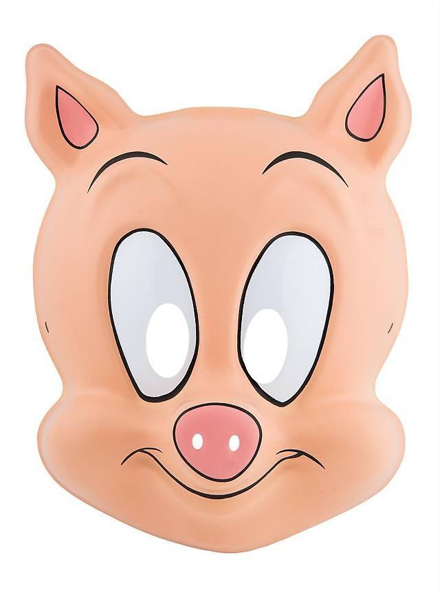 Tiny Toons Hamton J. Schwein PVC Kindermaske