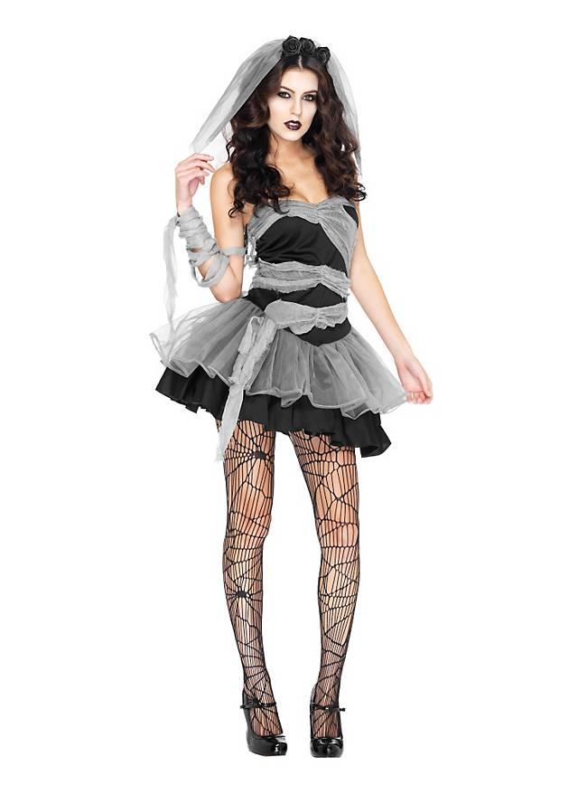 Gothic Braut Kostüm