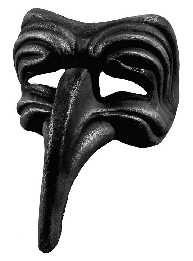 Turchetto nero - Venezianische Maske