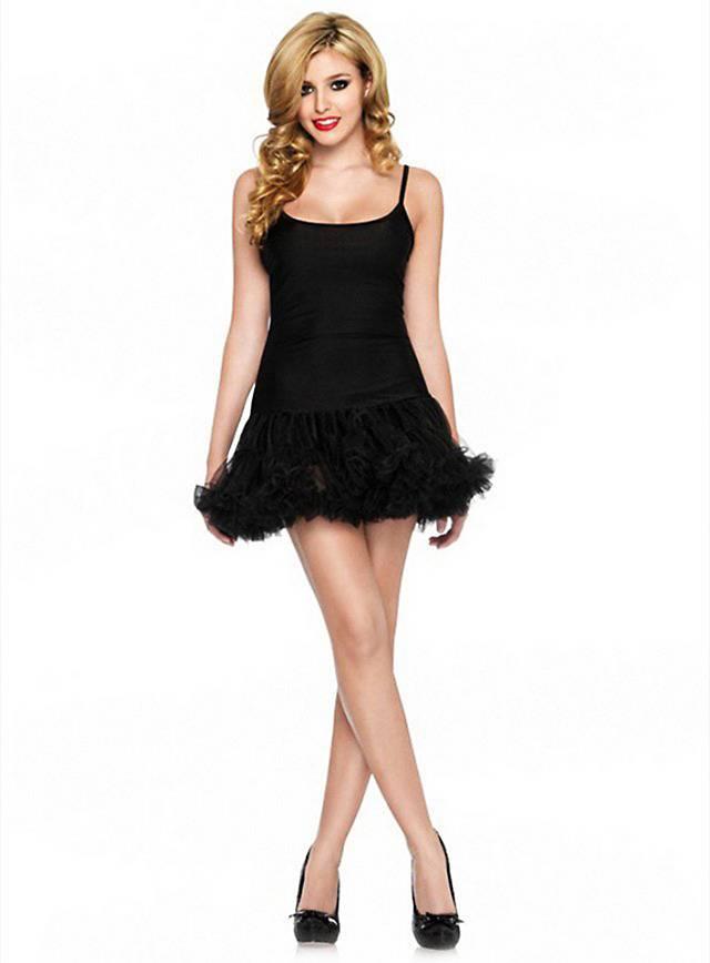 Tutu Trägerkleid schwarz