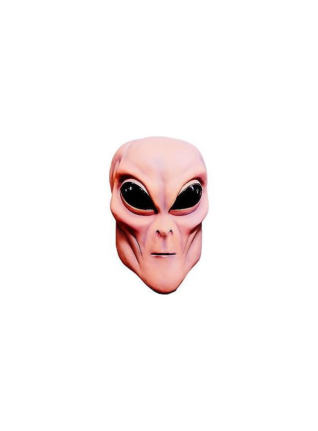 Ufo Alien Maske aus Latex