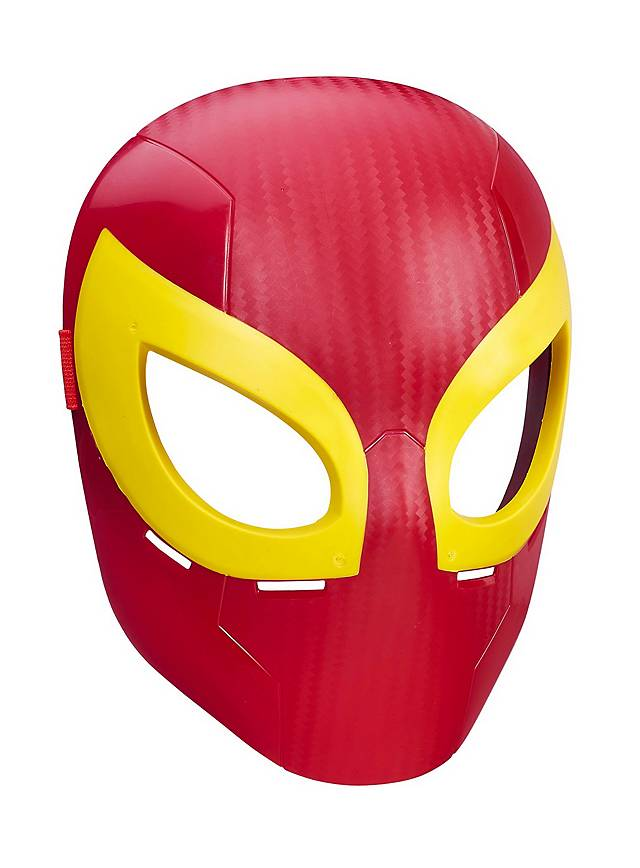 ultimate spider man iron spider maske f r kinder. Black Bedroom Furniture Sets. Home Design Ideas