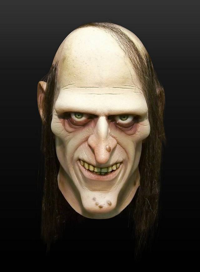 Uncle Creepy Latex Full Mask - maskworld.com