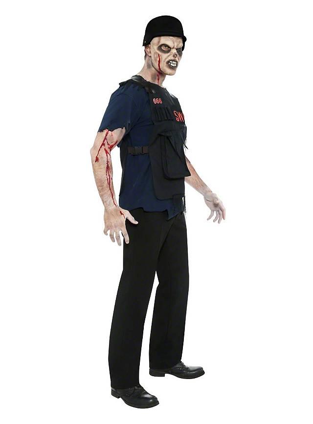 Undead Swat Cop Costume Maskworld Com