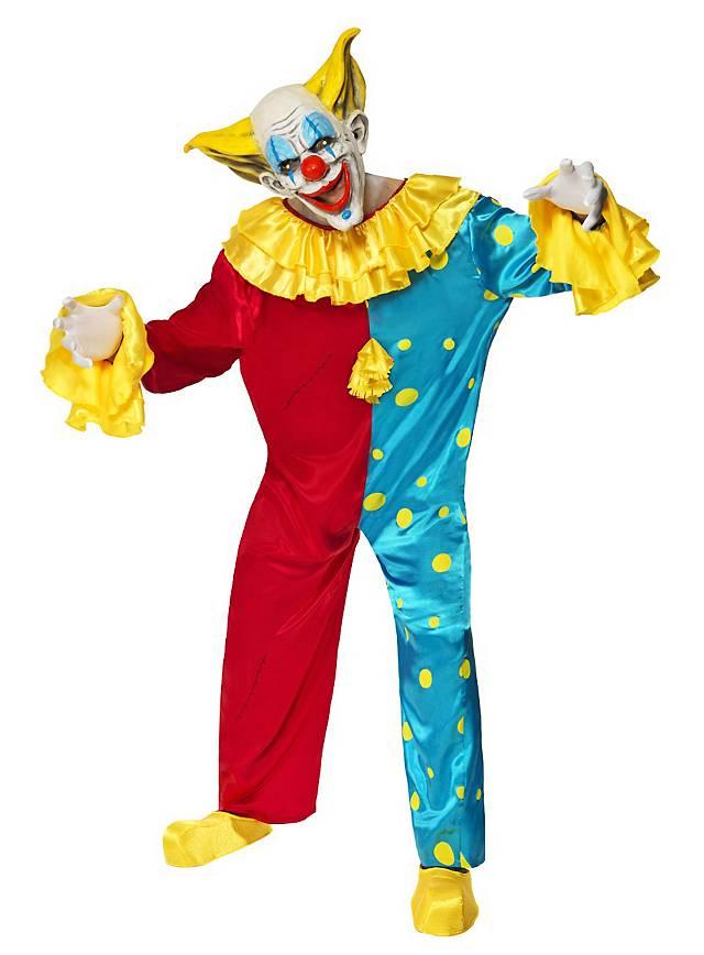 unheimlicher clown kost m. Black Bedroom Furniture Sets. Home Design Ideas
