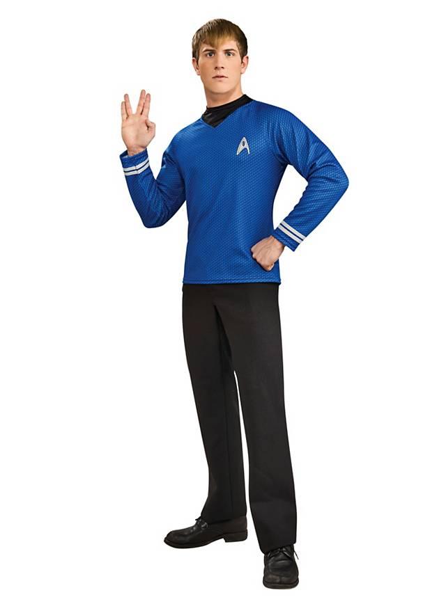 Uniforme bleu Star Trek