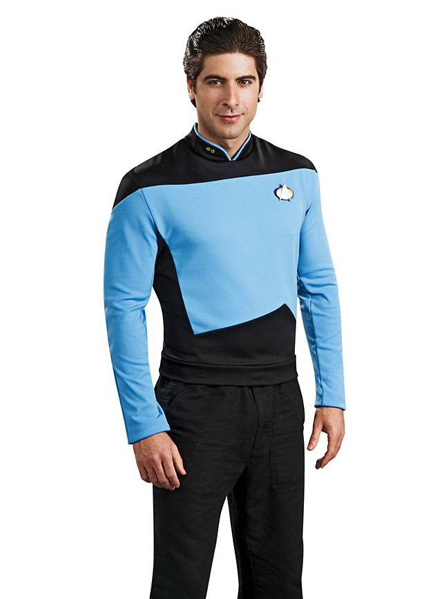Uniforme bleu Star Trek The Next Generation