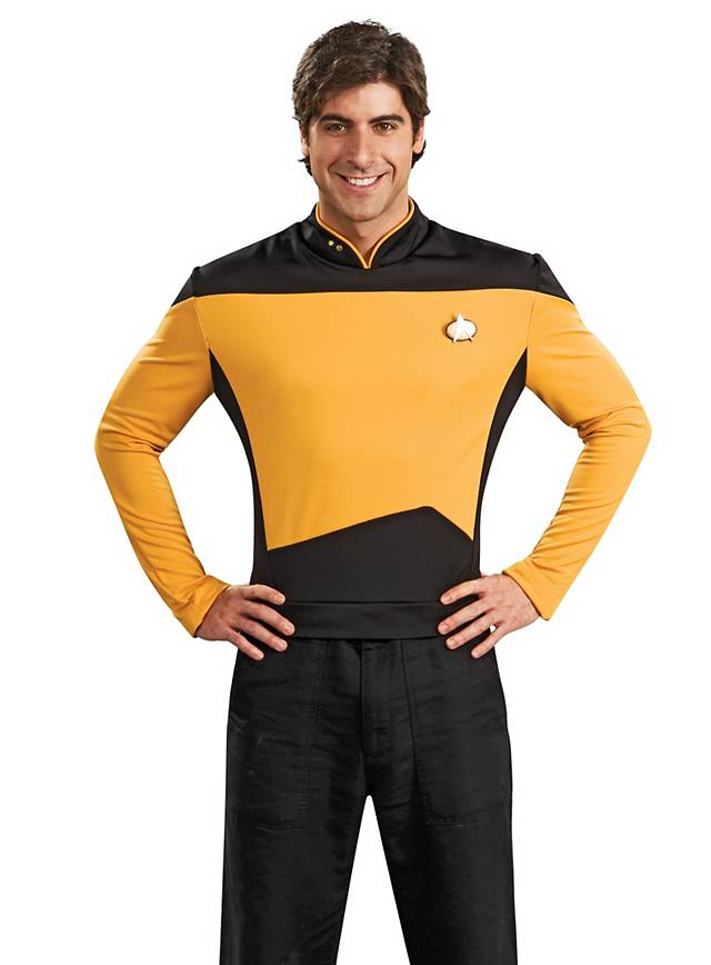 Uniforme doré Star Trek The Next Generation