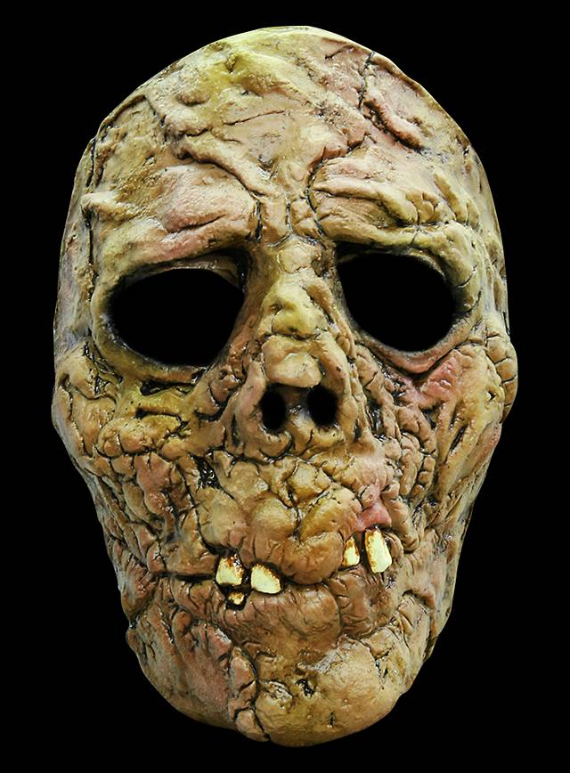 Untoter Maske des Grauens aus Latex
