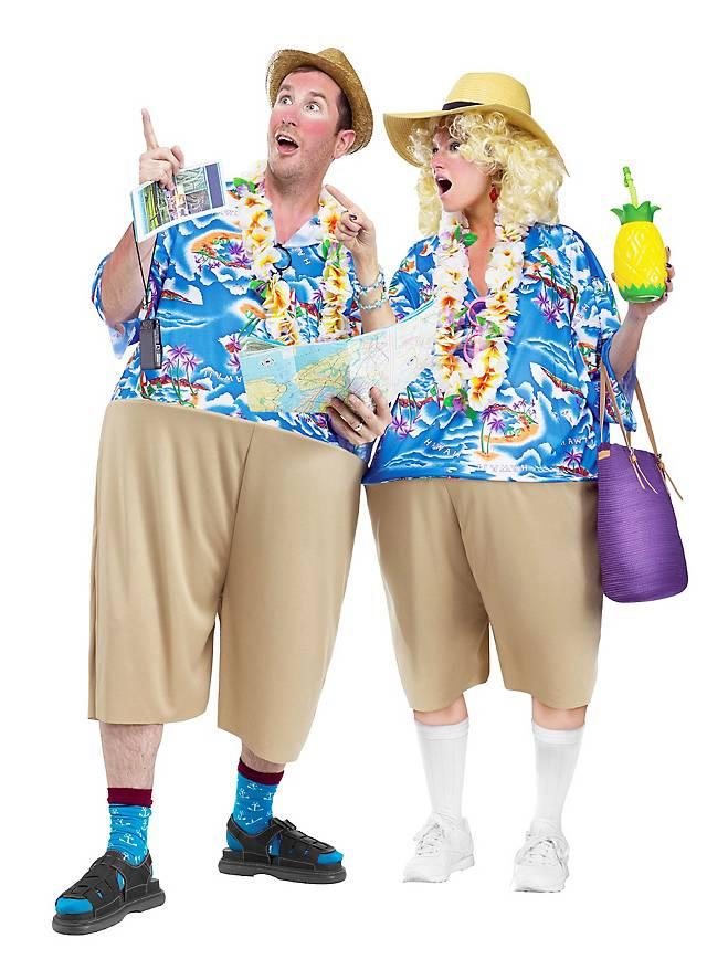 Urlauber Kostüm als Paarkostüm