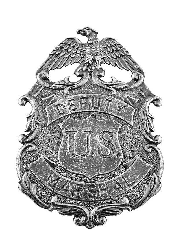 US Deputy Marshal Nickel-Adler Abzeichen