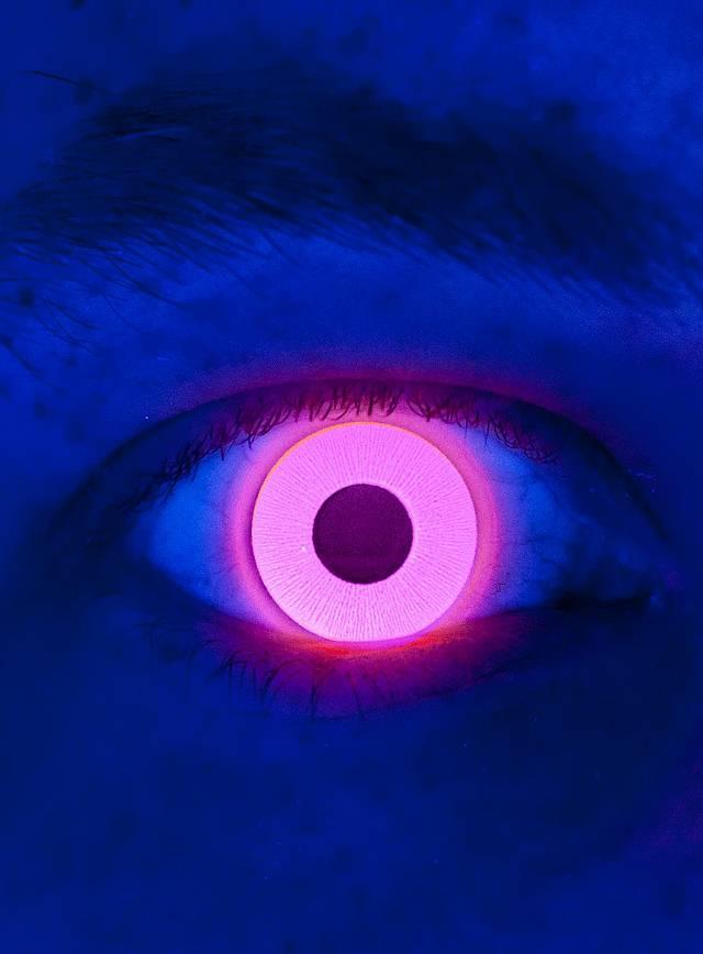 UV rouge Lentilles de contact