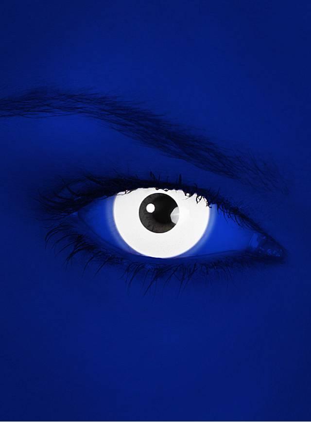 UV Weiß Kontaktlinsen