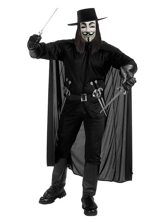 V wie Vendetta Guy Fawkes Kostüm
