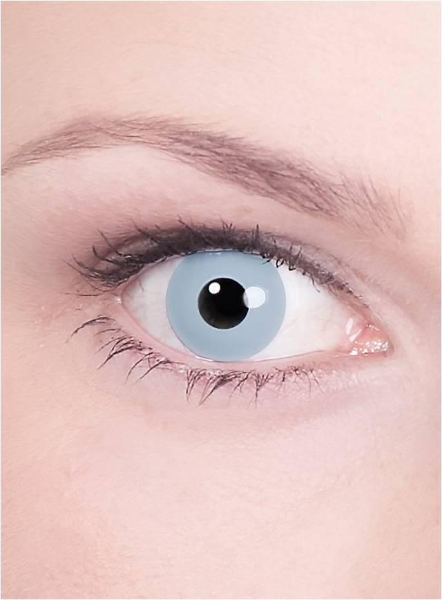 Hellgraue Kontaktlinsen Vampir