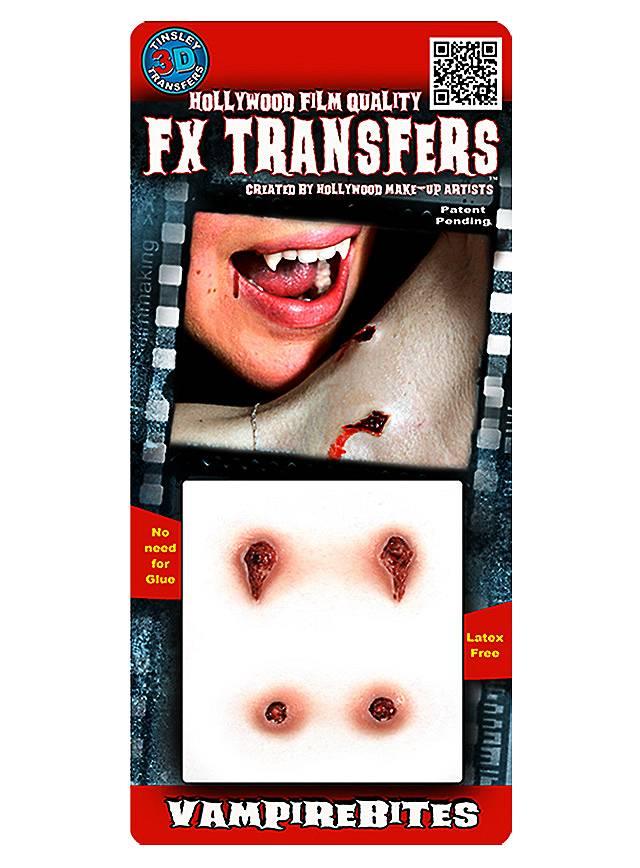 Vampire Bite 3D FX Transfers