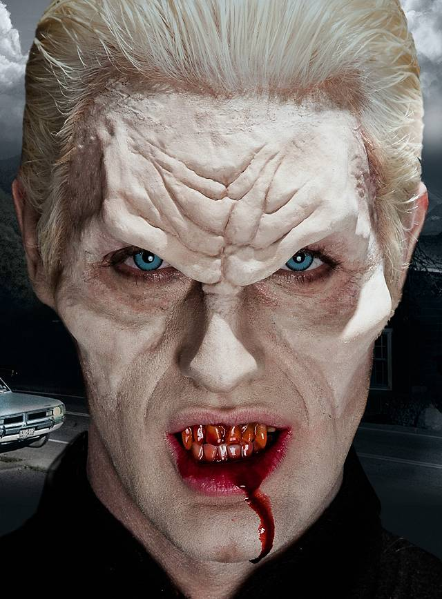 Vampirstirn Latexapplikation