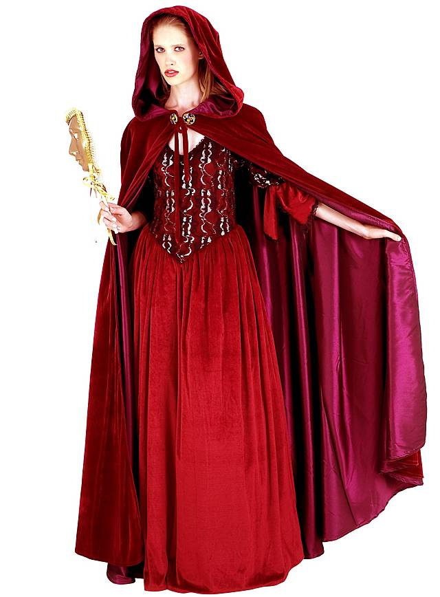 Velvet Cape Venetian Lady Maskworld Com
