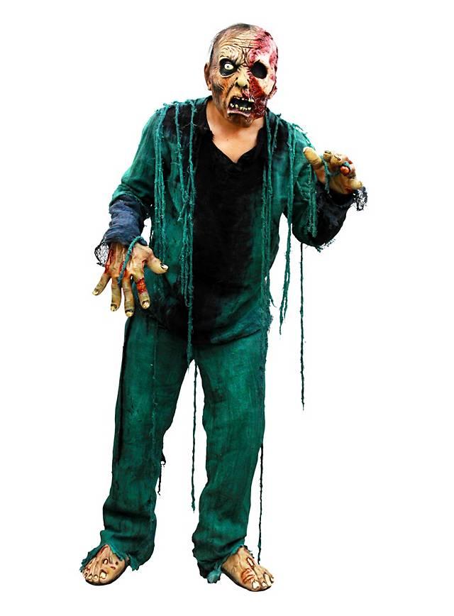 Verkohlter Zombie Kostüm mit Maske