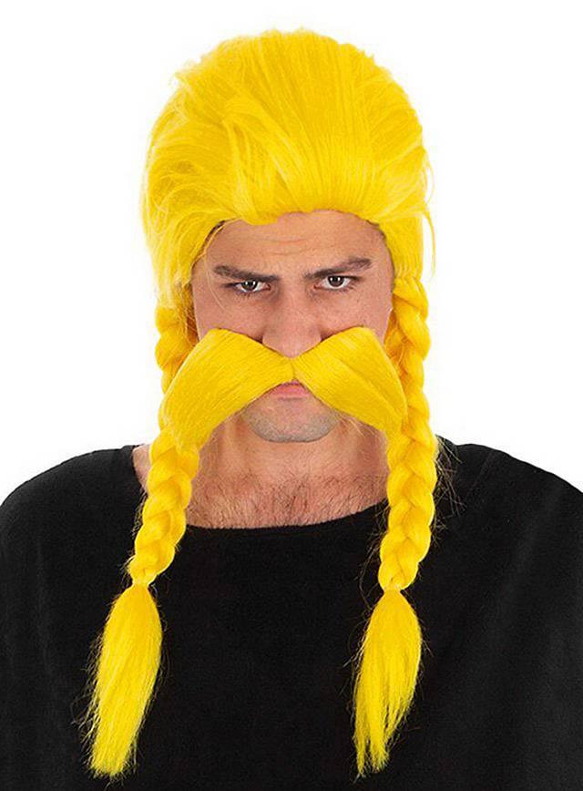 Verleihnix Wig & Beard Set