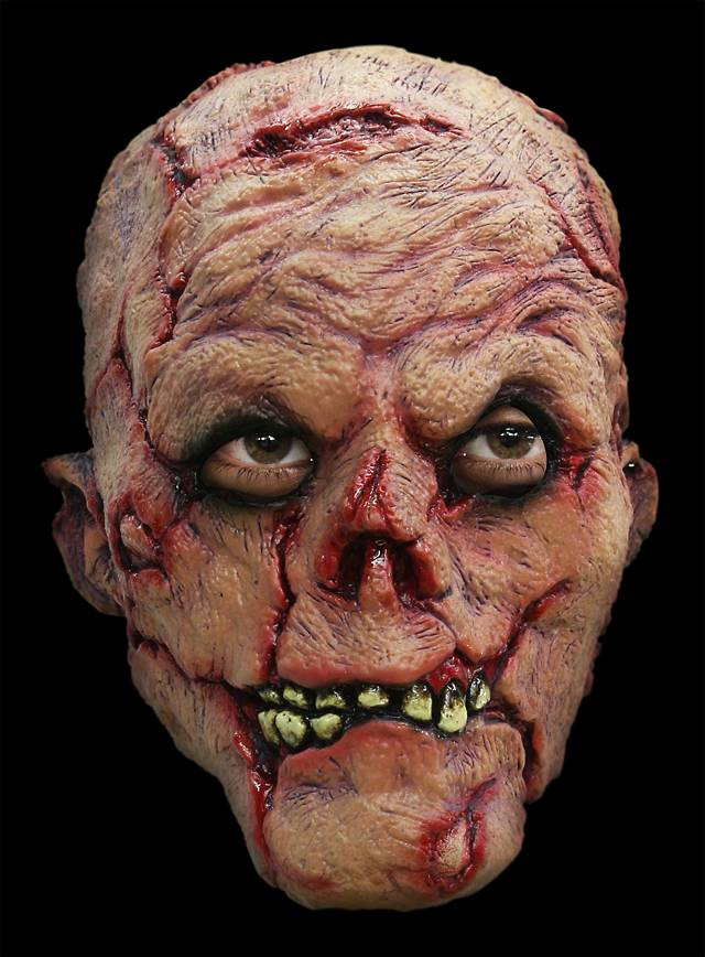 Verrotteter Zombie Maske des Grauens