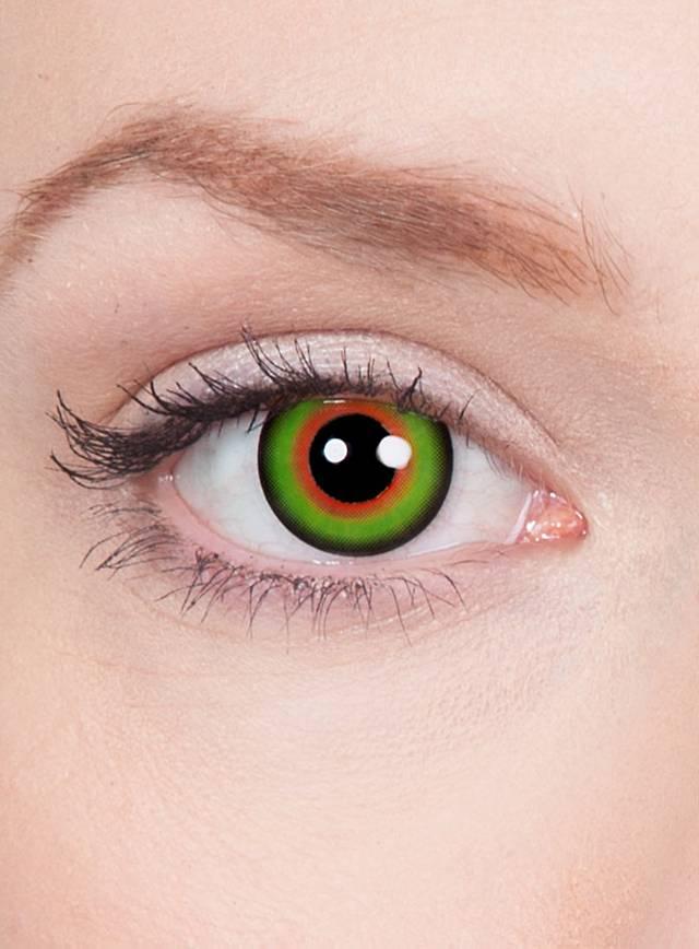 Kontaktlinsen für den Hutmacher Schminktipp