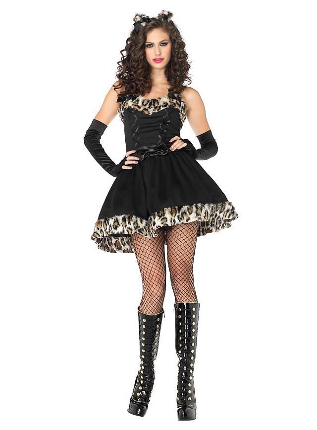 Verspielte Wildkatze Kostüm
