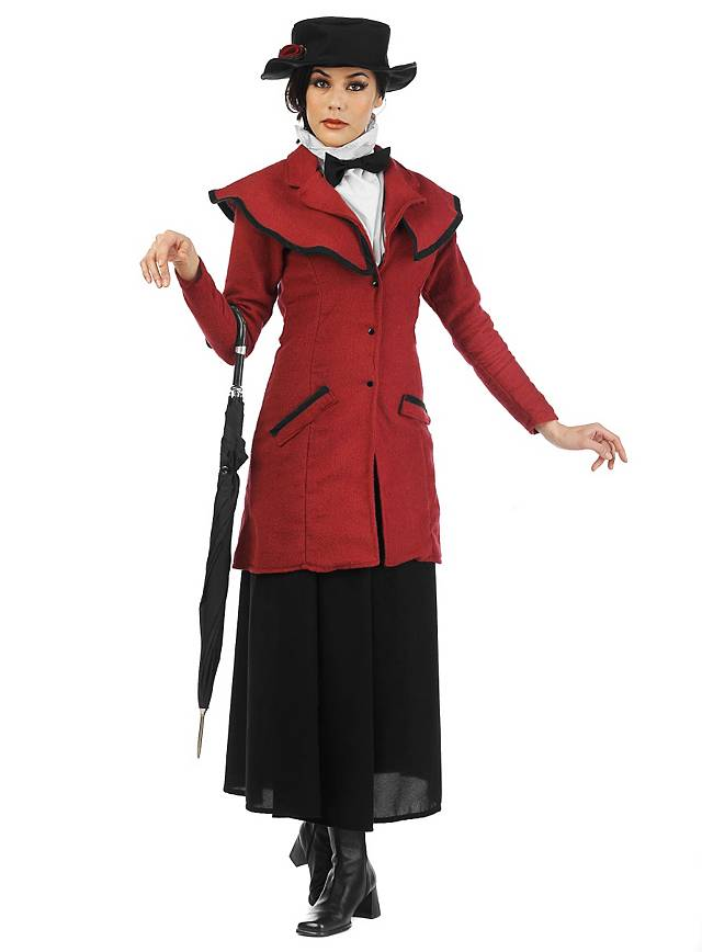 Viktorianische Nanny Kostüm